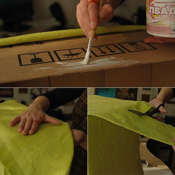 Коробка для белья из картона своими руками 36