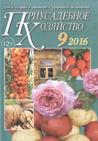 Приусадебное хозяйство 9 2016