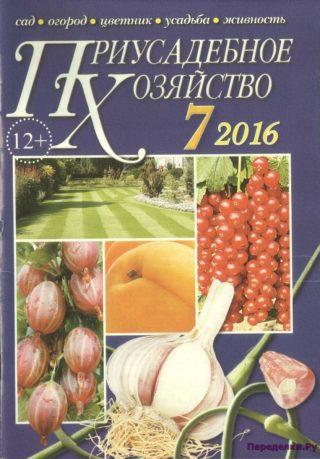 Приусадебное хозяйство 7 2016