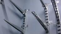 Стеллажи полки в кладовке из кабельных стоек и фанеры (без монтажа)