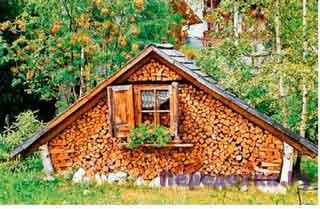 Храним дрова красиво