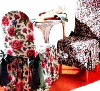 22 Чехлы для стульев