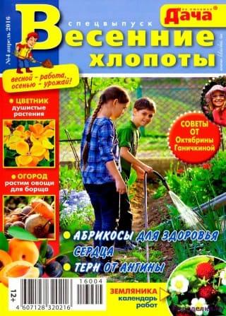 Журнал Моя любимая дача сп 4 2016