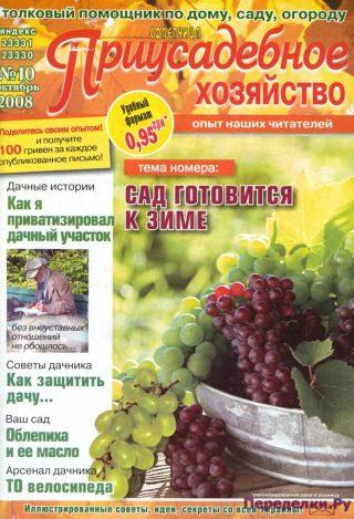 Приусадебное хозяйство 08 10