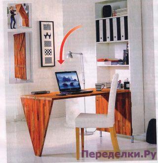 Компактный трансформер и стол,и шкаф