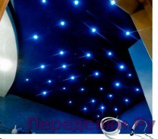 Звездная россыпь на потолке