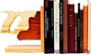Книжные упоры для столярной библиотеке