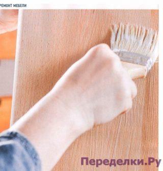 Восстанавливаем лаковое покрытие