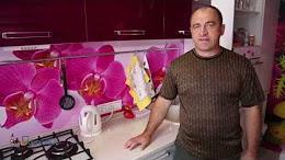 Установка кухонного фартука из МДФ