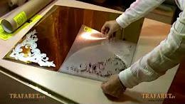 Мастер-класс по матированию стекла