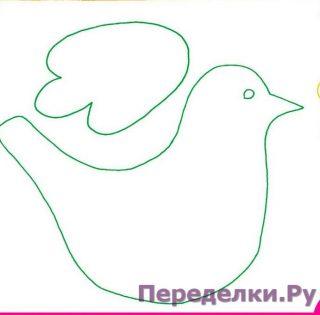 Стайка птичек