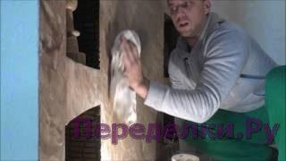 Мрамор из краски - нанесение воска