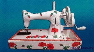Декор швейной машинки своими руками