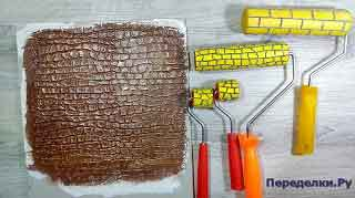 Как сделать декоративный валик для шпаклевки