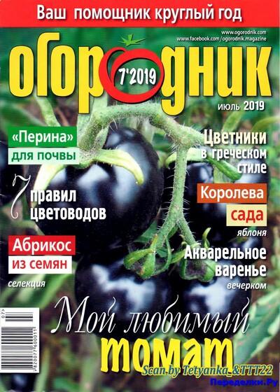 ОГОРОДНИК 7 ИЮЛЬ 2019