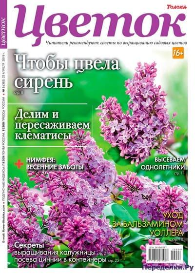 Цветок 8 (362) апрель 2019