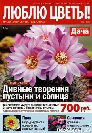 Ljublju cvety 1 janvar 2020